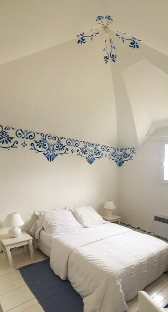 Chambre d'hôtes bleue - Le pigeonnier